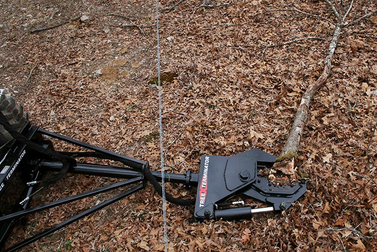 Tree Terminator Rotating Tree Shear by Grace Manufacturing