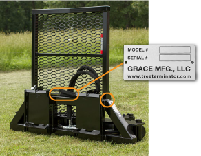 Grace Manufacturing serial number location warranty registration