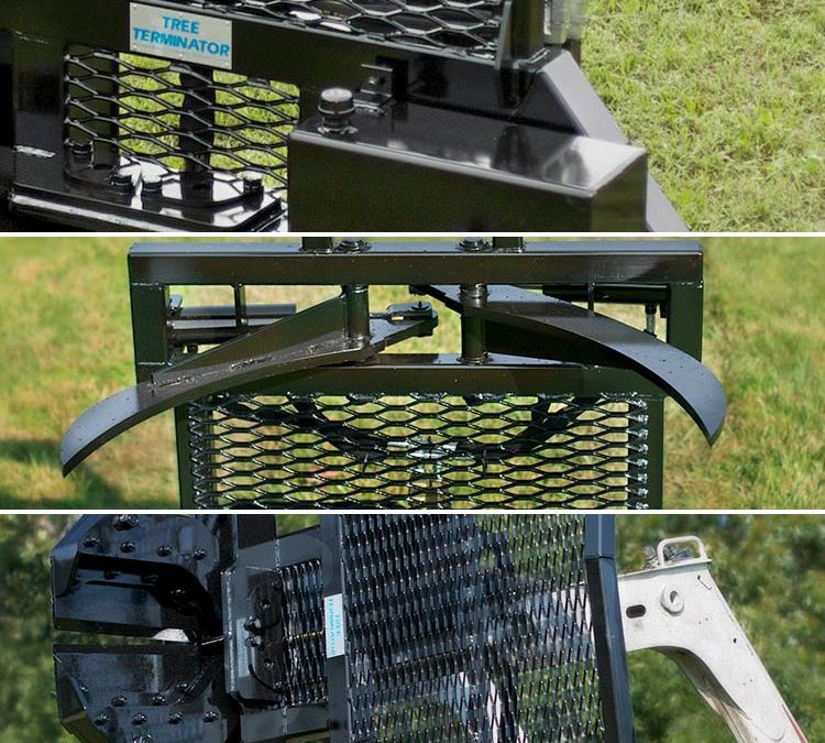 Tree Terminator tree shear options by Grace Manufacturing
