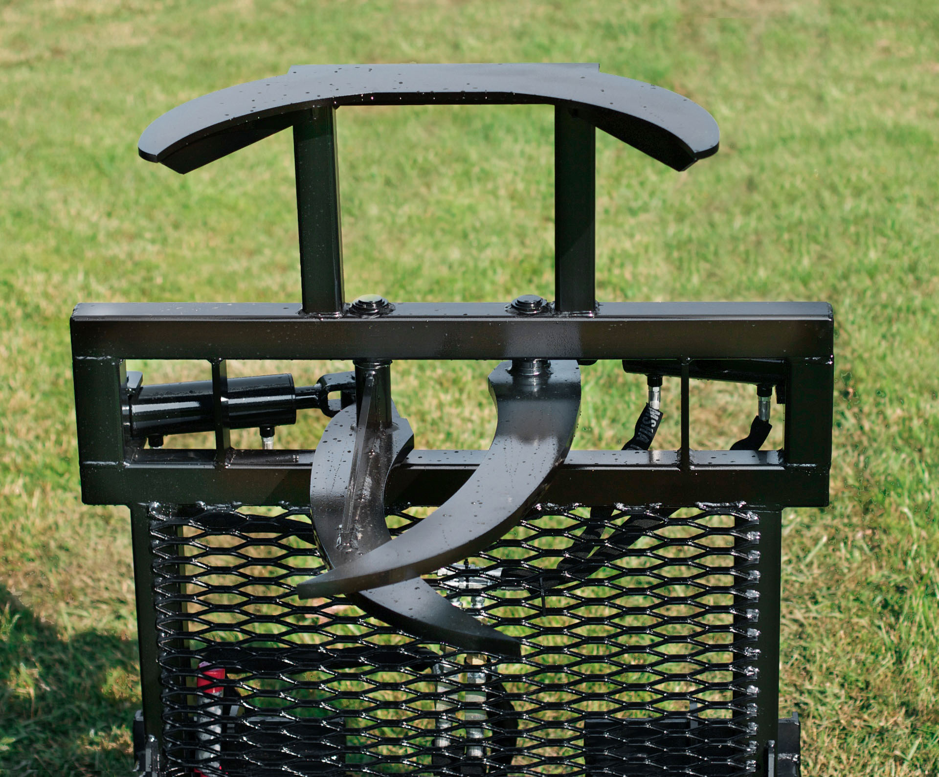 Tree Terminator tree shear option grapple attachment by Grace Manufacturing