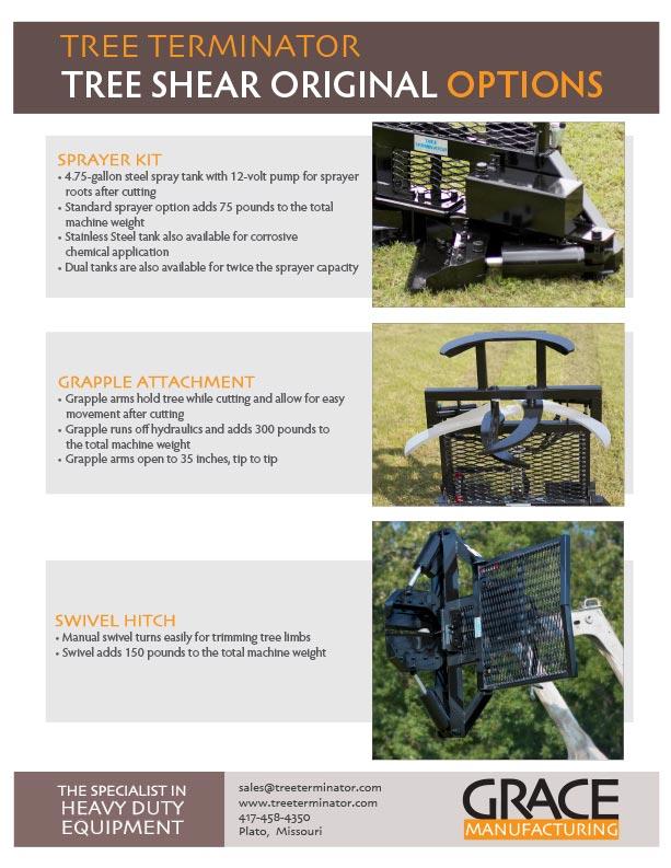 Tree Terminator Tree Shear Options Trade & Wholesale Info
